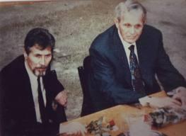 Emil Constantinescu si Corneliu Coposu