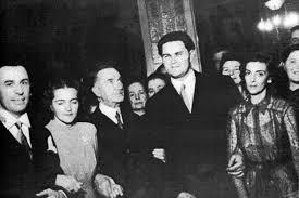Coposu a cunoscut-o pe viitoarea sa sotie, Arlette, fiica generalului Marcovici si a Jeannei Husser