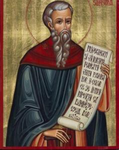 †) Cuv. Daniil Sihastrul; Sf. Mc. Sebastian şi Zoe; Sf. Ier. Modest (Dezlegare la peşte)
