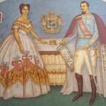 Alexandru Ioan Cuza si Doamna Elena