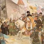 Mihai Viteazul intrând în Alba Iulia