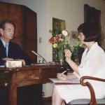 Regele Mihai si Marilena Rotaru, August 1994. din arhiva Marilenei Rotaru