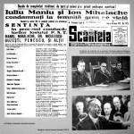 Iuliu Maniu si Ion Mihalache in ziarul Scanteia 1947