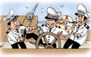 lupta politica caricatura