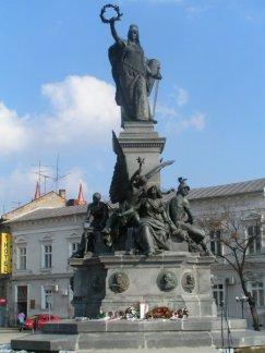 statuia libertatii Arad