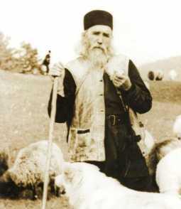 Parintele Cleopa cioban si teolog