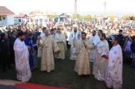 Biserica Barsanesti Bercioiu sfintire sobor de preoti