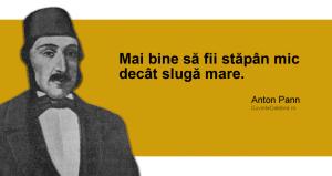 citat de Anton Pann