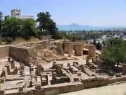Cartagina deal Byrsa vestigii arheologice