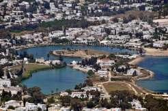 Cartagina vedere port de pe dealul Byrsa