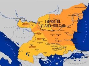 imperiul Vlaho Bulgar de la anul  1185 – 1396