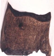 Tableta Dispilio și semnele scrijelite în lemn
