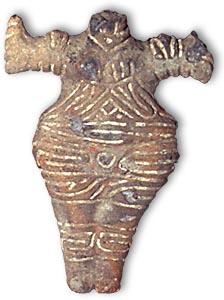 Boian figurina de lut