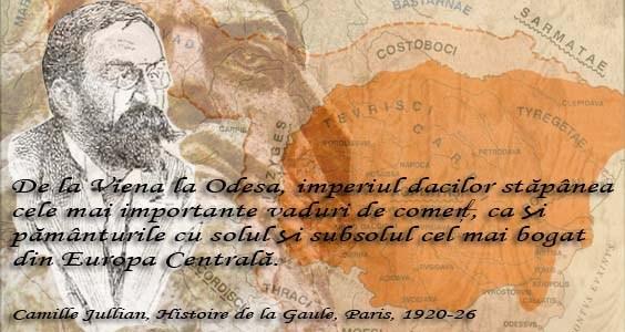 Camille Jullian citat despre Dacia
