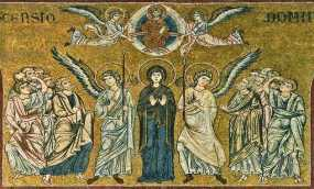 Inaltarea Domnului mozaic Bizantin