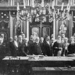 Memebrii ASTRA in Simleu Silvaniei, August 1908