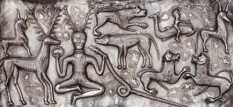 Cernunnos simbol Celtic zeu al fertilitati