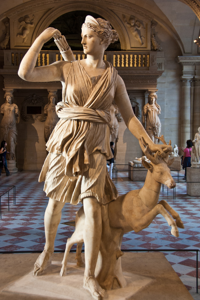 Diana expusa la Versialles