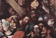 Iisus purtand crucea pictura de Hieronymus Bosch