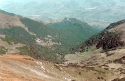 Căldarea Negoiescu-1 - locul fostei cabane Pusdrele-2 - drum spre Borşa-muntii rodnei romania natura
