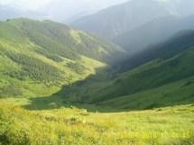 Creasta văzută din Tarniţa Bârsanului spre vest