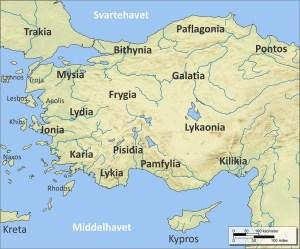 Anatolia antică