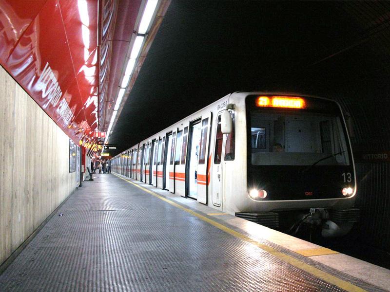 Gradski prevoz Rima - metro