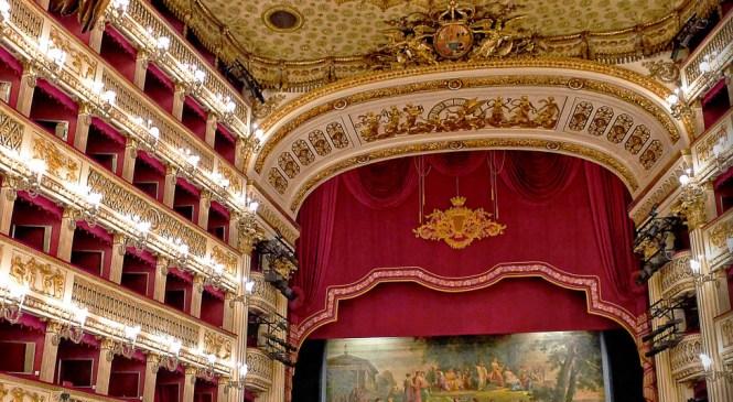 Teatro San Carlo u Napulju – najstarija aktivna opera u Europi