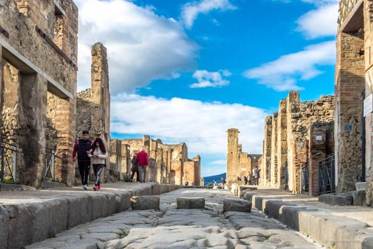 Pešački prelaz u Pompeji