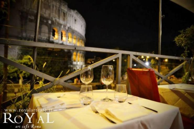 Nova godina u Rimu sa pogledom na Koloseum