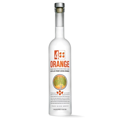 4 Orange Premium Vodka