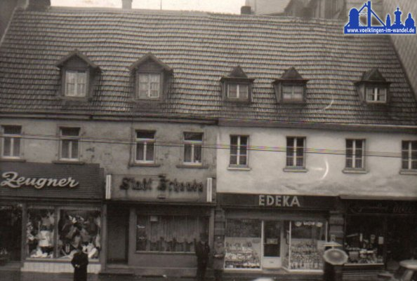 Rathausstraße 1964 © Strempel