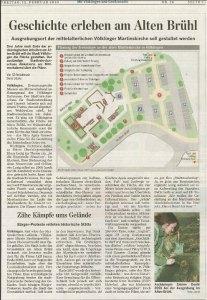 2010 plant man von Seiten der Stadt Völklingen das Gelände würdig zu gestalten