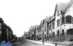 Hohenzollernstraße um 1908