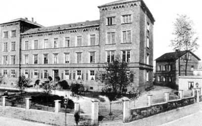 Das Knappschaftskrankenhaus zur Zeit um 1910.