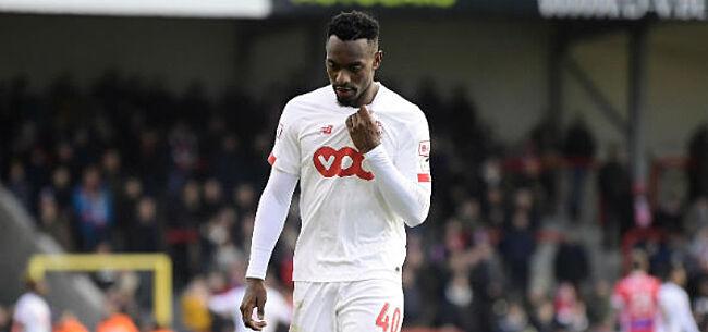 Foto: Standard hoopt alsnog op Mpoku te rekenen tegen Anderlecht en Antwerp