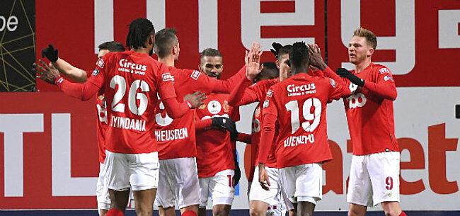 Foto: Standard verzorgt het spektakel en legt Bundesliga-team over de knie