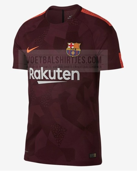 Tercera camiseta FC Barcelona 17 18
