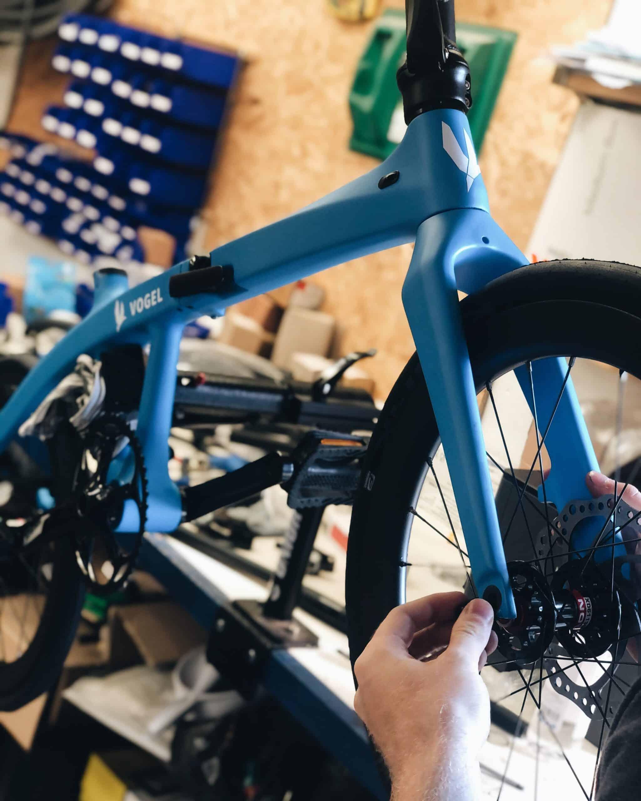 Vogel Curie folding bicyle