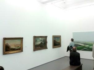 """""""Konstruktion und Landschaft"""", Kaiser Wilhelm Museum"""