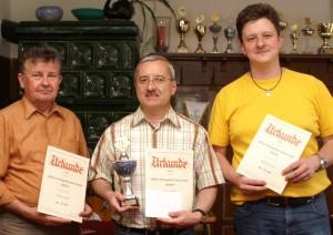 Die 3 Erstplatzierten der OVL 2008/09