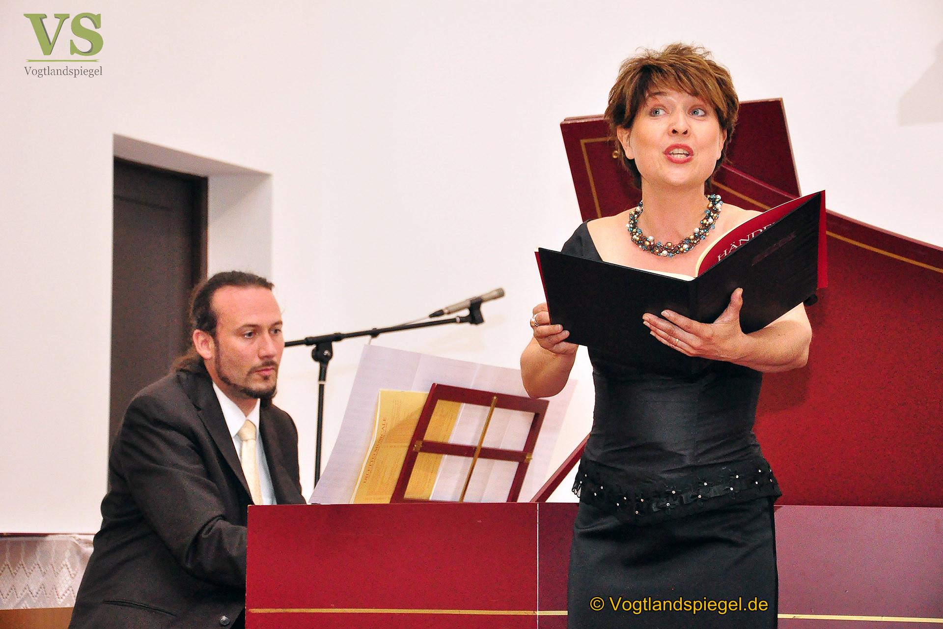 Sommerliches Konzert in der Greizer Katholischen Kirche mit Matthias und Angelika Grünert, Jana Büchner und Sergej Synelnikow