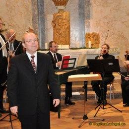 Greizer Collegium musicum erfreut mit traditionellem Weihnachtskonzert 160 Menschen in der Greizer Stadtkirche