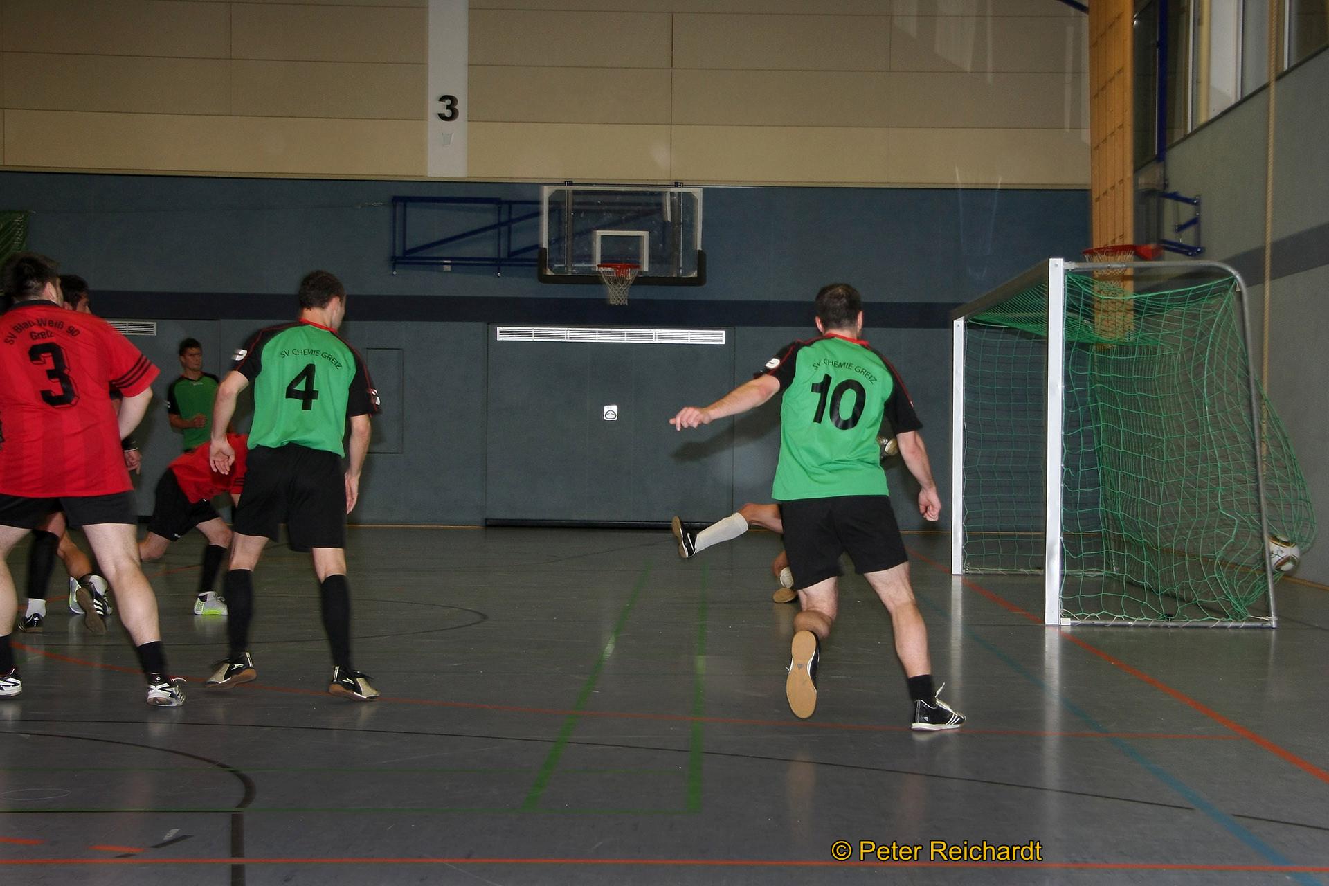 Stadtmeisterschaft Greiz im Hallenfußball der Männer