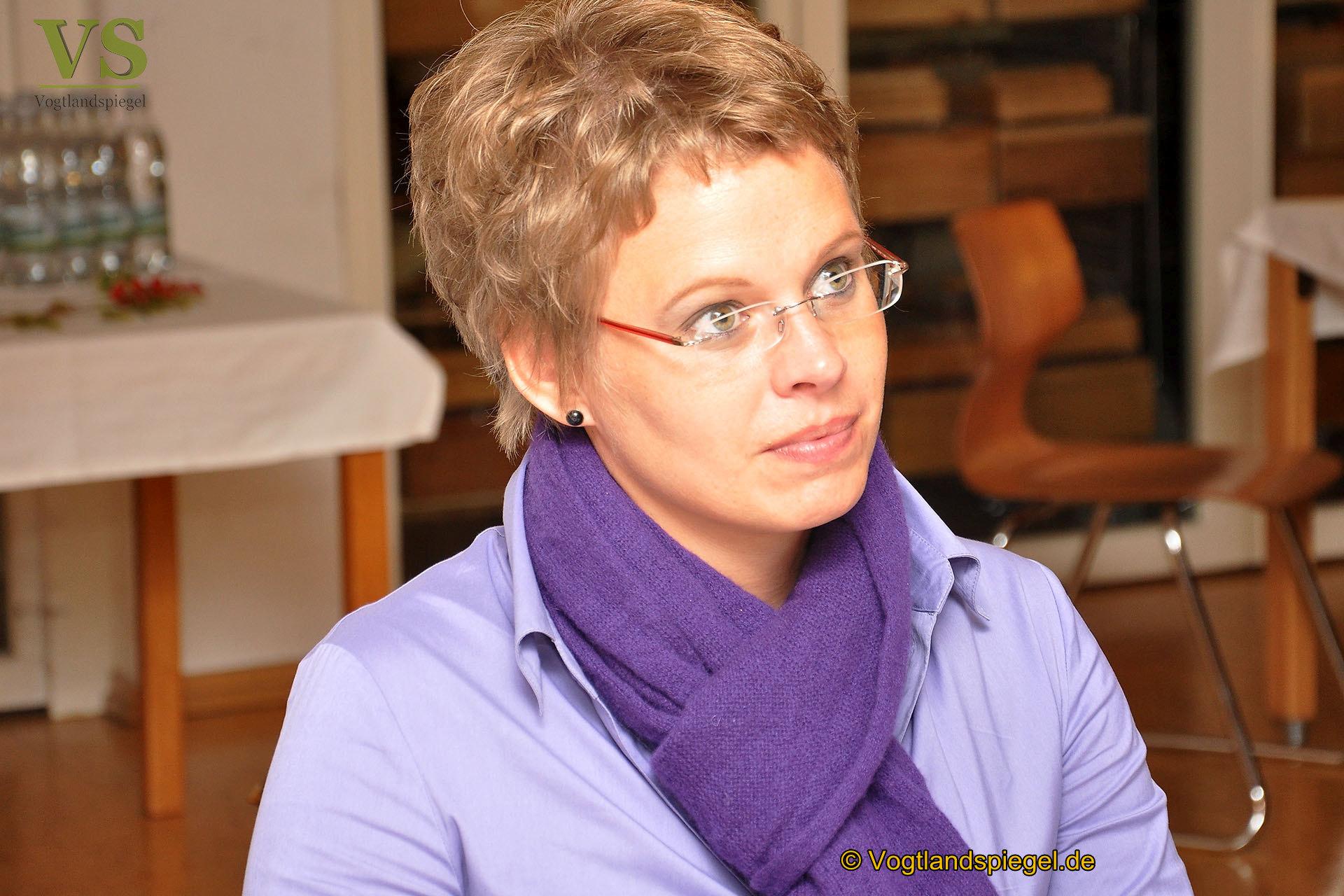Gudrun Dreßel, Geschäftsführerin des Diakonievereins Carolinenfeld e.V.
