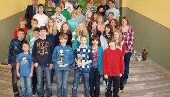 Greizer Gymnasium holt Pokal