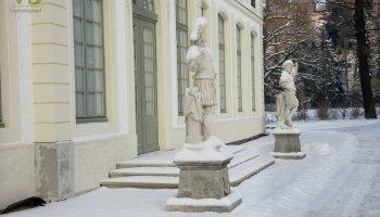 Ein Wintertag im Fürstlich Greizer Park