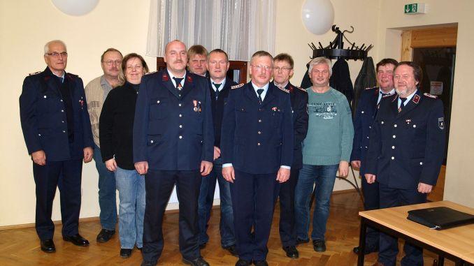 Neuer Vereinsvorstand für Feuerwehr Daßlitz