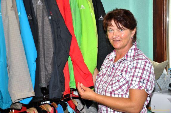 Geschäftsfrau Brigitte Jasinski