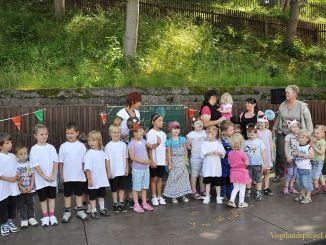 Sommerfest im Kindergarten Geschwister Scholl